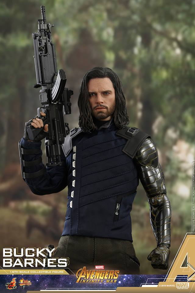 [Hot Toys] -Avengers: Infinity War - Winter Soldier 1/6 43879810