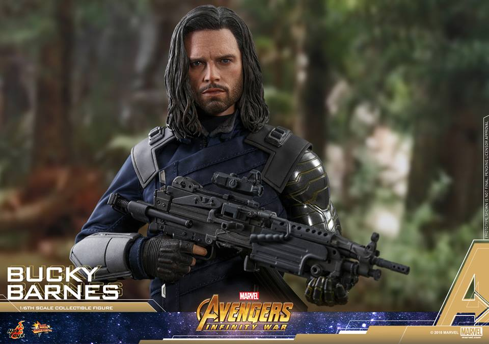 [Hot Toys] -Avengers: Infinity War - Winter Soldier 1/6 43950210
