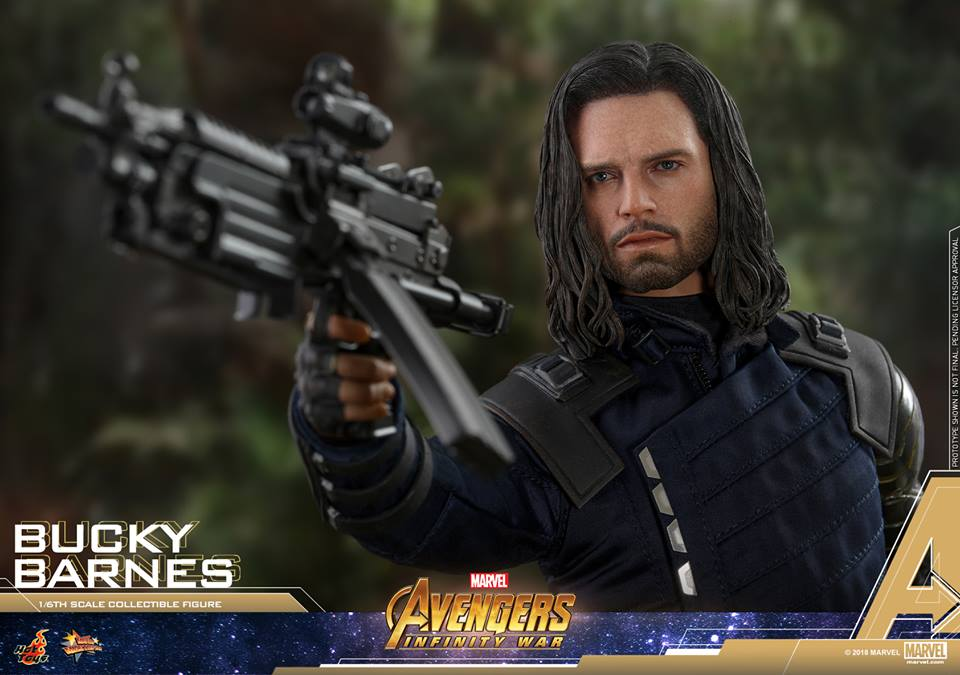 [Hot Toys] -Avengers: Infinity War - Winter Soldier 1/6 43950910