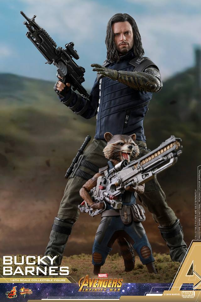 [Hot Toys] -Avengers: Infinity War - Winter Soldier 1/6 43951210