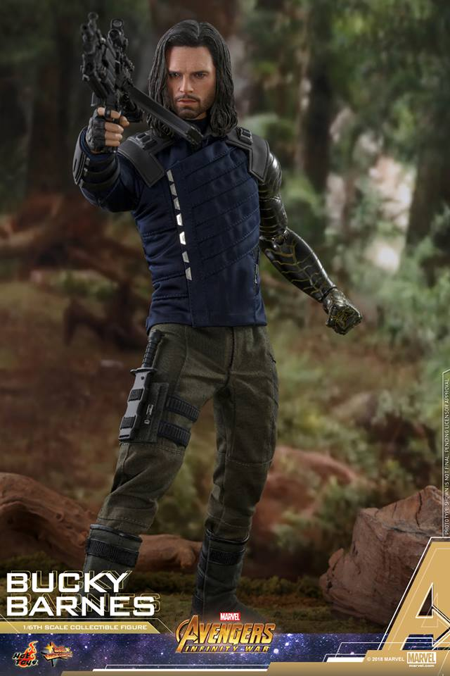 [Hot Toys] -Avengers: Infinity War - Winter Soldier 1/6 43951710