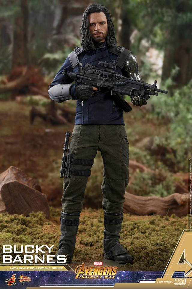 [Hot Toys] -Avengers: Infinity War - Winter Soldier 1/6 44029810