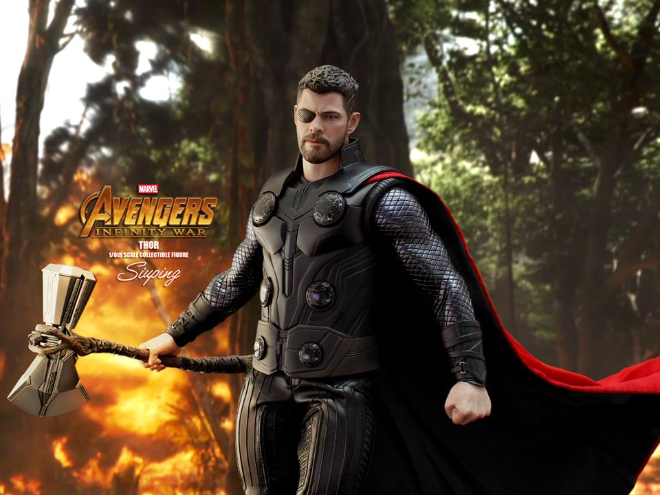 [Hot Toys] -Avengers: Infinity War -Thor 1/6 44063010