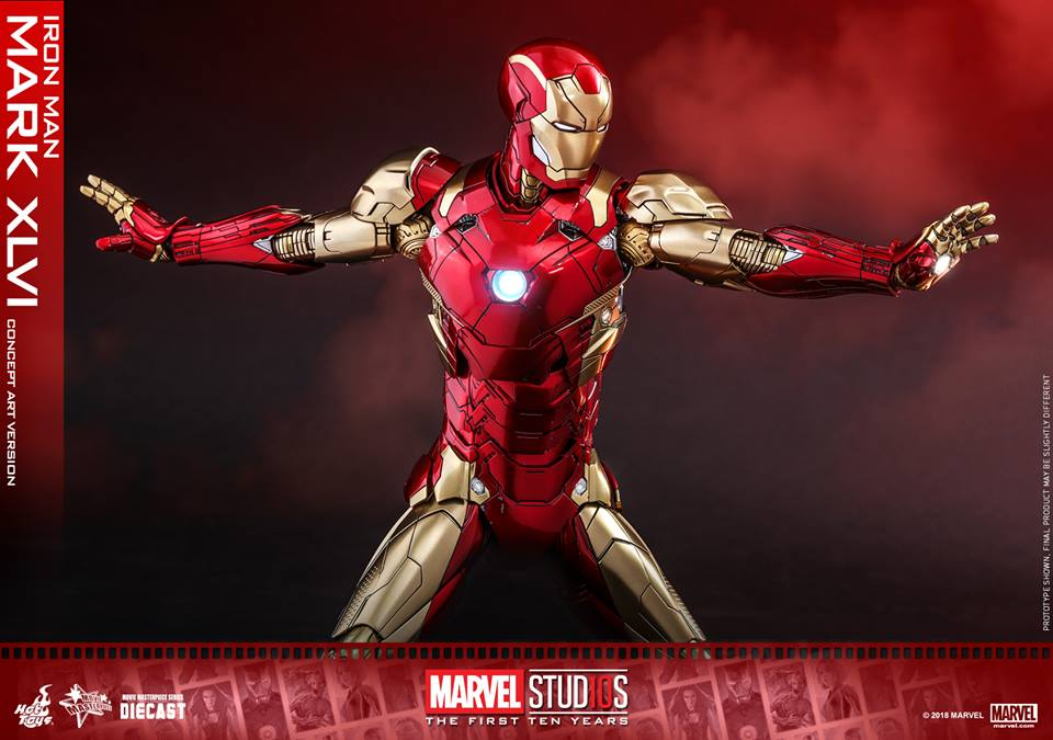 [Hot Toys]- Marvel Studios: The first 10 years- Mark XLVI (concept version) 44173710