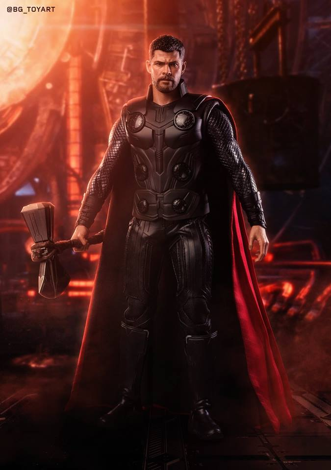 [Hot Toys] -Avengers: Infinity War -Thor 1/6 44178310