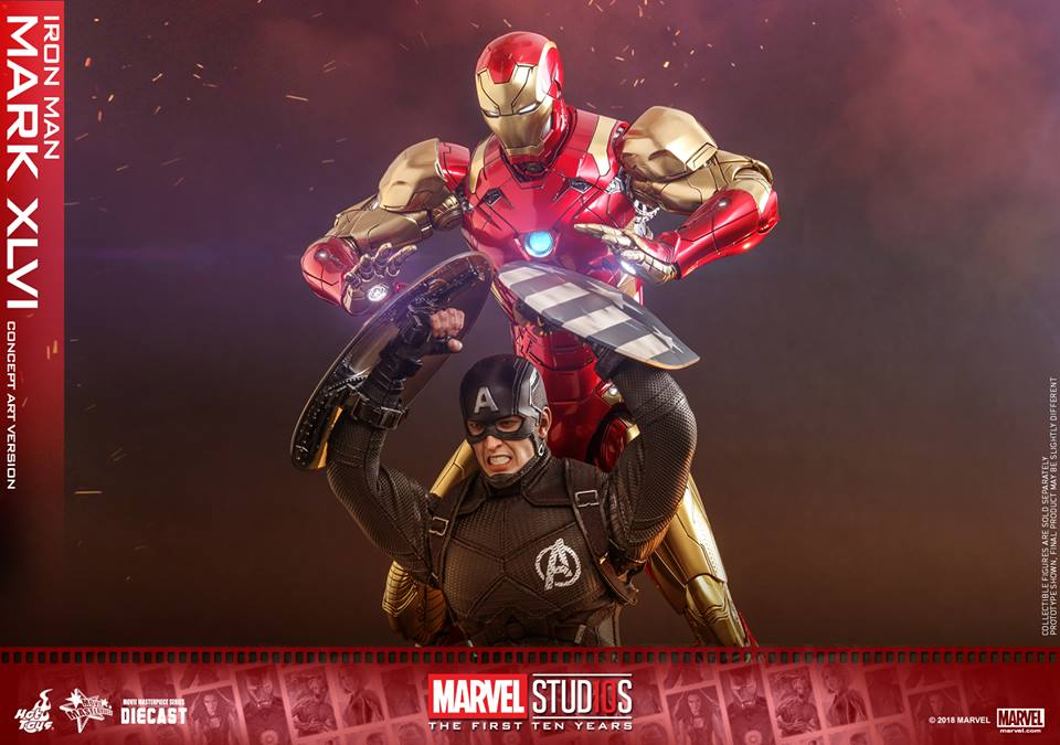 [Hot Toys]- Marvel Studios: The first 10 years- Mark XLVI (concept version) 44179910