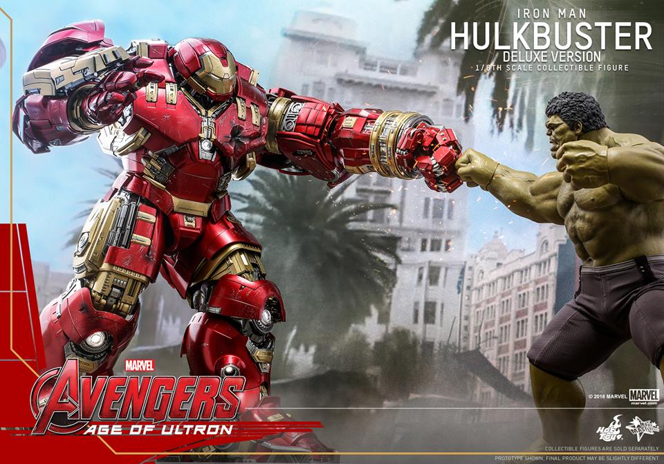 [Hot Toys]- Avengers: Age of Ultron- Hulkbuster deluxe version 1/6 44206410
