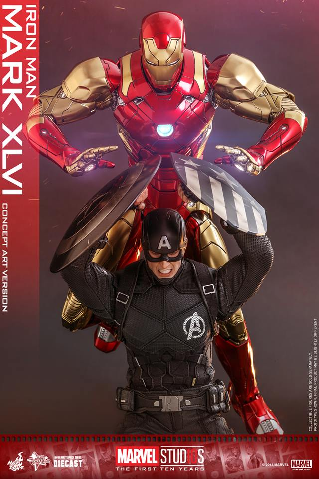 [Hot Toys]- Marvel Studios: The first 10 years- Mark XLVI (concept version) 44213811