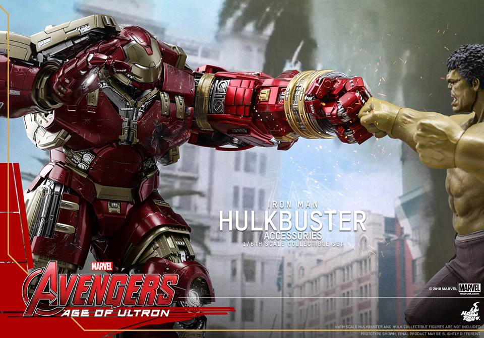 [Hot Toys]- Avengers: Age of Ultron- Hulkbuster Accessories set 1/6  44262410