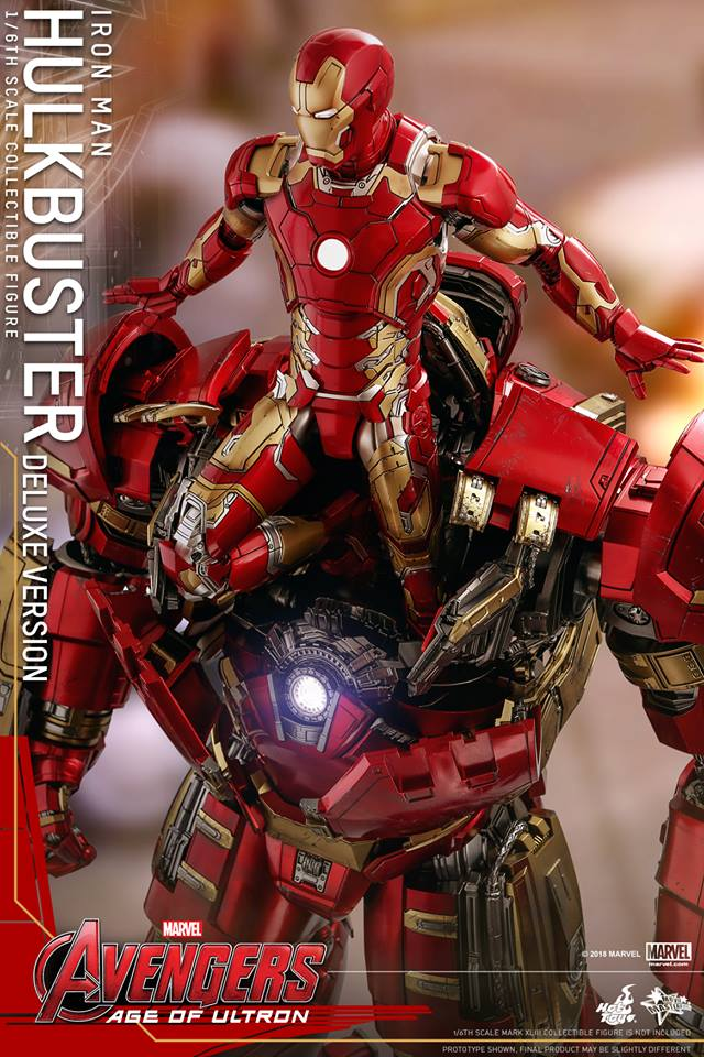 [Hot Toys]- Avengers: Age of Ultron- Hulkbuster deluxe version 1/6 44268110