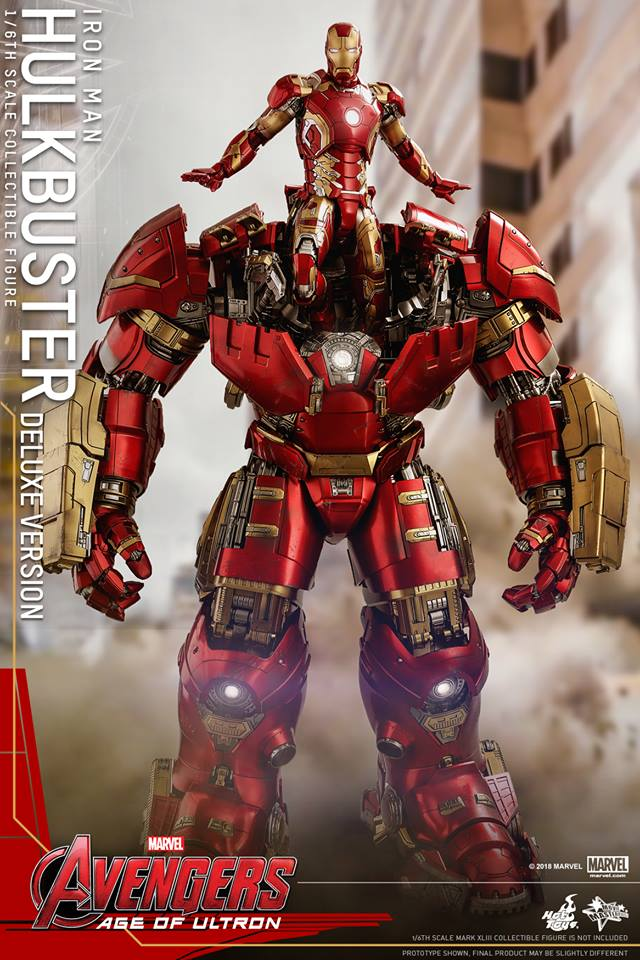 [Hot Toys]- Avengers: Age of Ultron- Hulkbuster deluxe version 1/6 44273510