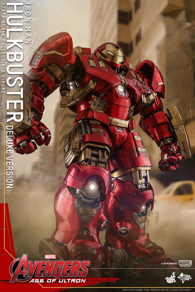 [Hot Toys]- Avengers: Age of Ultron- Hulkbuster deluxe version 1/6 44277210