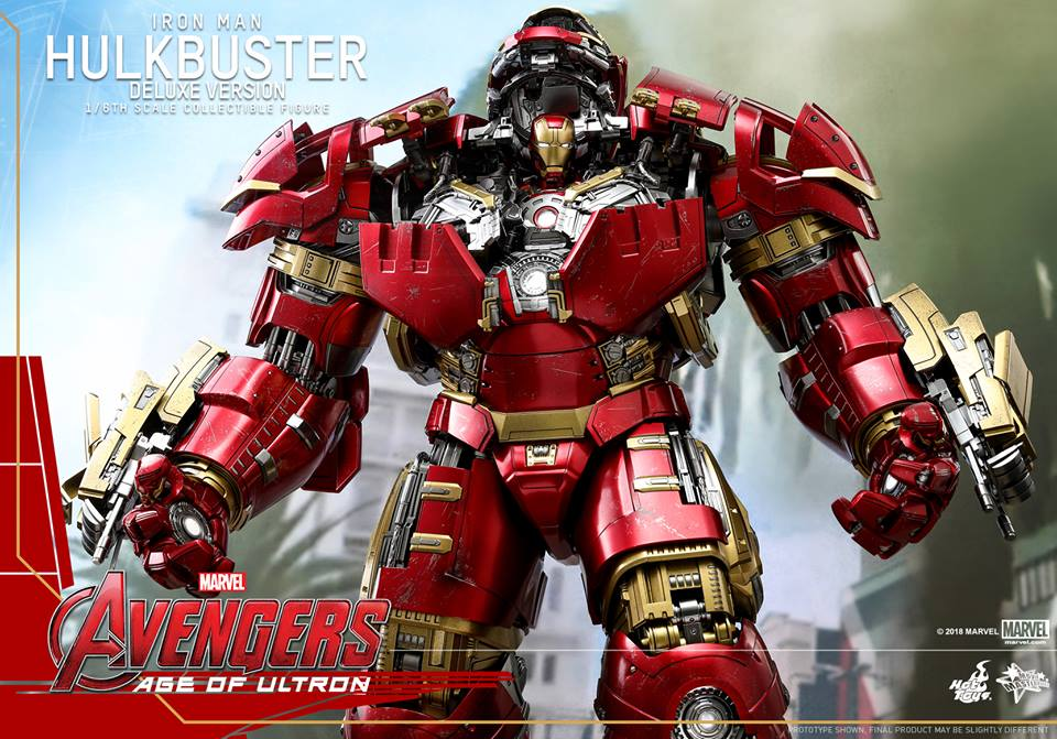 [Hot Toys]- Avengers: Age of Ultron- Hulkbuster deluxe version 1/6 44282910