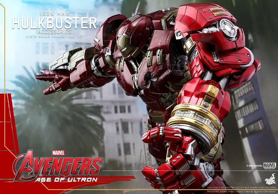 [Hot Toys]- Avengers: Age of Ultron- Hulkbuster Accessories set 1/6  44283410