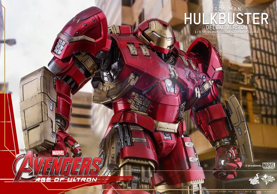 [Hot Toys]- Avengers: Age of Ultron- Hulkbuster deluxe version 1/6 44287010