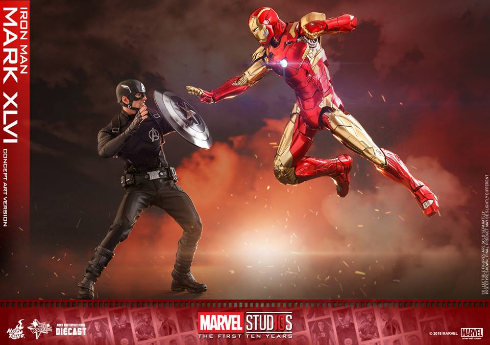 [Hot Toys]- Marvel Studios: The first 10 years- Mark XLVI (concept version) 44289310