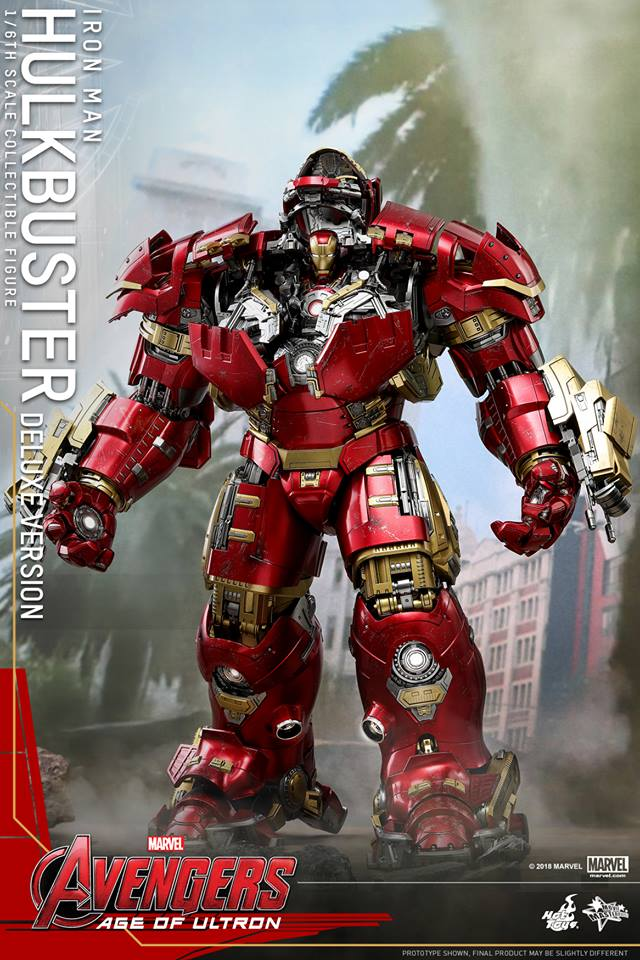 [Hot Toys]- Avengers: Age of Ultron- Hulkbuster deluxe version 1/6 44290310