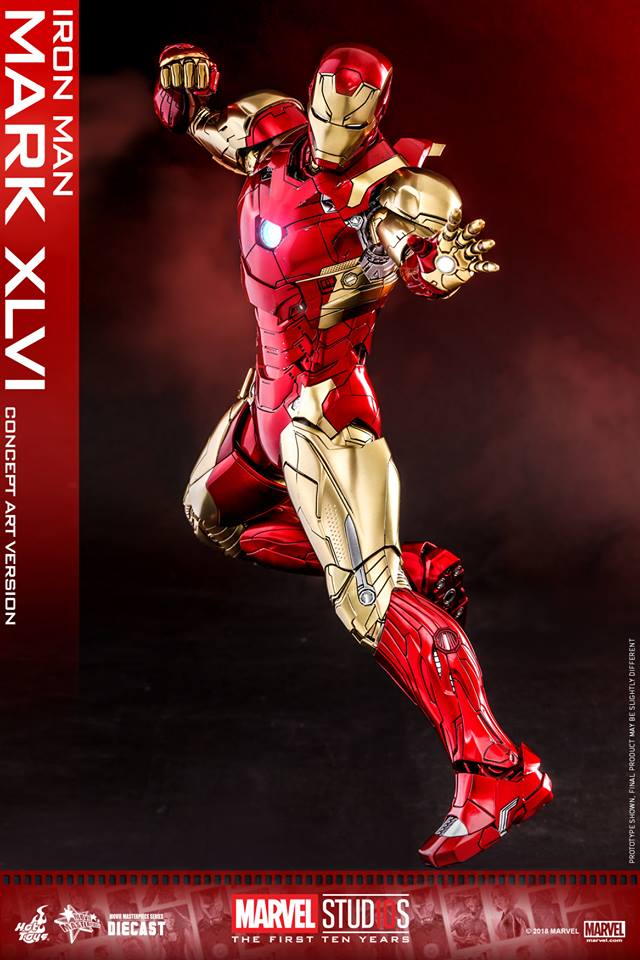 [Hot Toys]- Marvel Studios: The first 10 years- Mark XLVI (concept version) 44295910