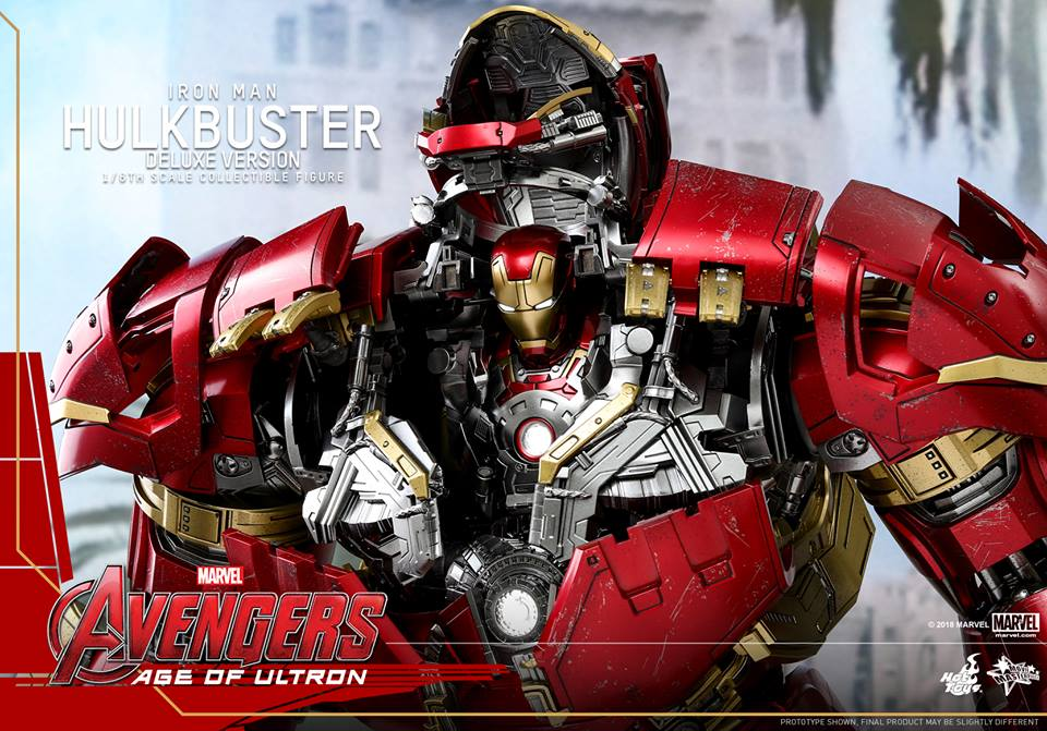 [Hot Toys]- Avengers: Age of Ultron- Hulkbuster deluxe version 1/6 44300710