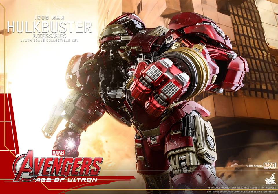 [Hot Toys]- Avengers: Age of Ultron- Hulkbuster Accessories set 1/6  44300711