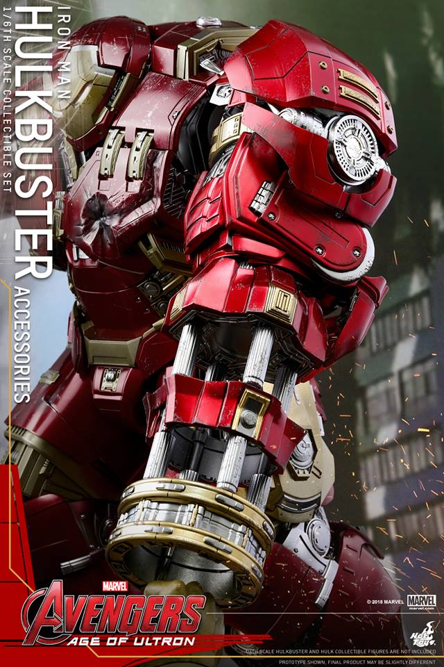 [Hot Toys]- Avengers: Age of Ultron- Hulkbuster Accessories set 1/6  44313010