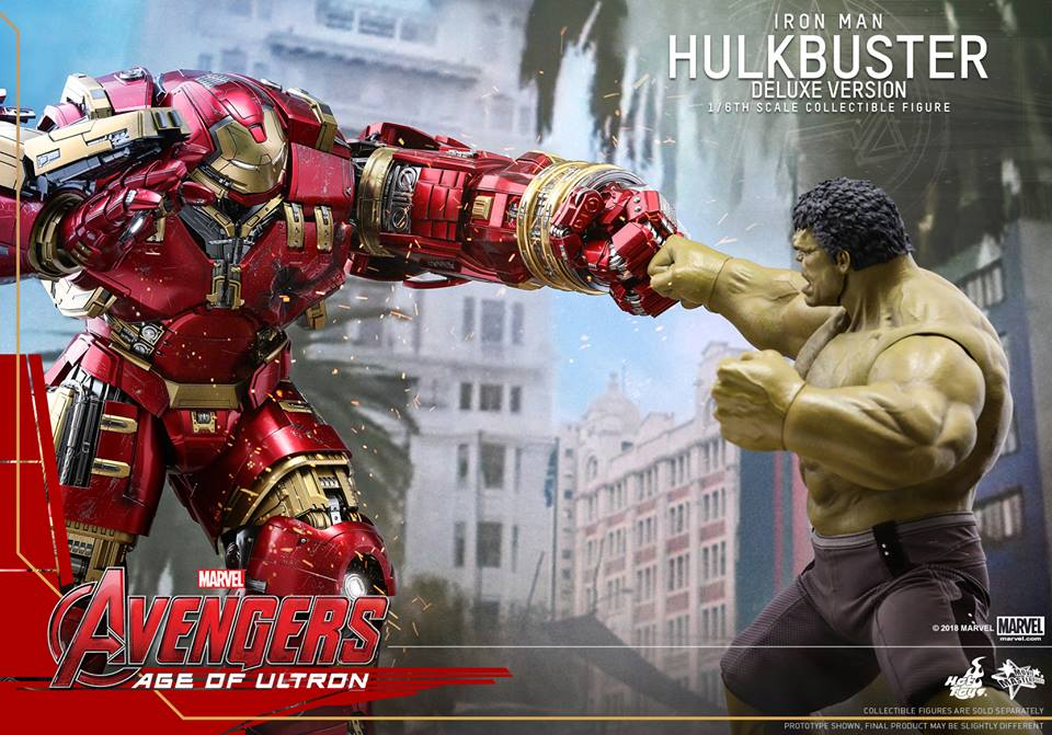 [Hot Toys]- Avengers: Age of Ultron- Hulkbuster deluxe version 1/6 44314210