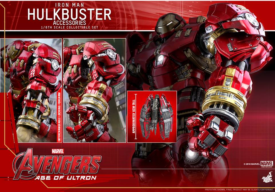 [Hot Toys]- Avengers: Age of Ultron- Hulkbuster Accessories set 1/6  44315110