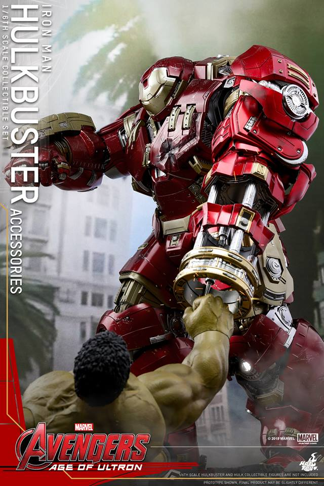 [Hot Toys]- Avengers: Age of Ultron- Hulkbuster Accessories set 1/6  44317411