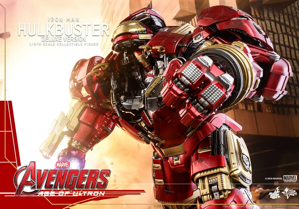 [Hot Toys]- Avengers: Age of Ultron- Hulkbuster deluxe version 1/6 44320710