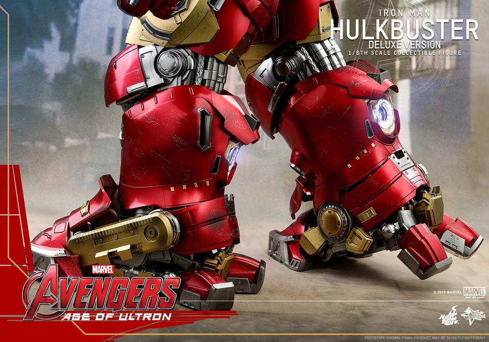 [Hot Toys]- Avengers: Age of Ultron- Hulkbuster deluxe version 1/6 44326110