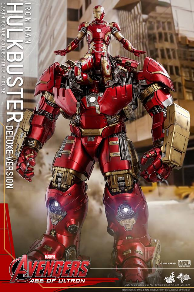 [Hot Toys]- Avengers: Age of Ultron- Hulkbuster deluxe version 1/6 44331910