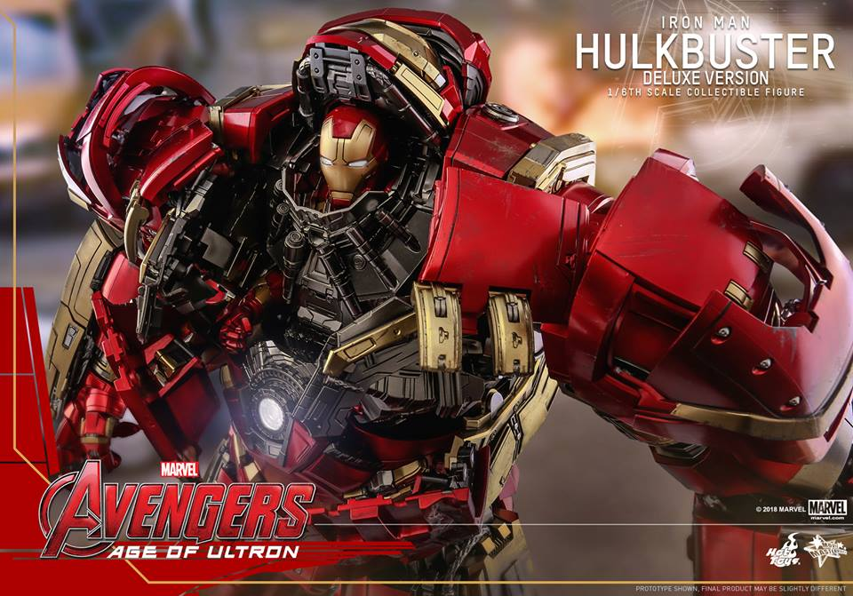 [Hot Toys]- Avengers: Age of Ultron- Hulkbuster deluxe version 1/6 44342810