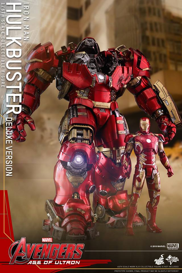 [Hot Toys]- Avengers: Age of Ultron- Hulkbuster deluxe version 1/6 44344411