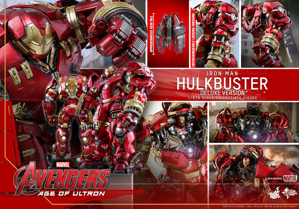 [Hot Toys]- Avengers: Age of Ultron- Hulkbuster deluxe version 1/6 44345710