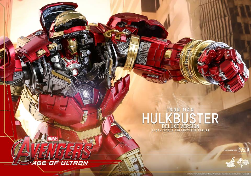 [Hot Toys]- Avengers: Age of Ultron- Hulkbuster deluxe version 1/6 44360610
