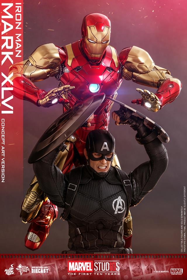 [Hot Toys]- Marvel Studios: The first 10 years- Mark XLVI (concept version) 44367610