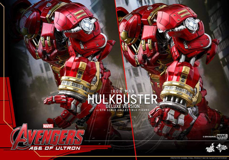 [Hot Toys]- Avengers: Age of Ultron- Hulkbuster deluxe version 1/6 44384010