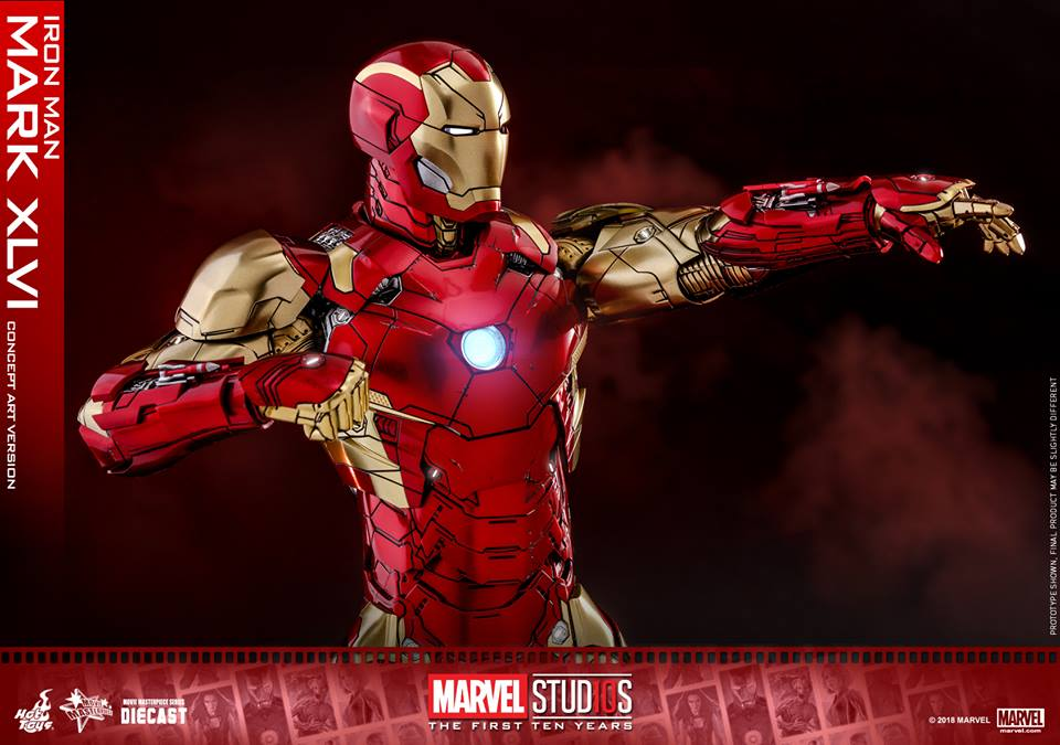 [Hot Toys]- Marvel Studios: The first 10 years- Mark XLVI (concept version) 44385710