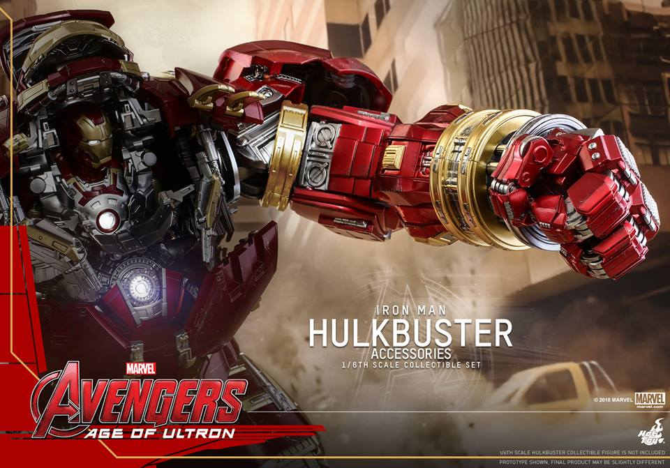 [Hot Toys]- Avengers: Age of Ultron- Hulkbuster Accessories set 1/6  44405610