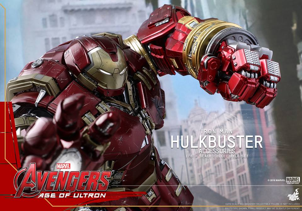 [Hot Toys]- Avengers: Age of Ultron- Hulkbuster Accessories set 1/6  44428810