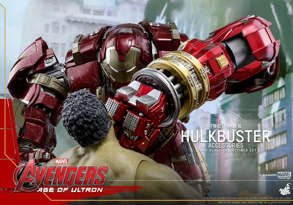 [Hot Toys]- Avengers: Age of Ultron- Hulkbuster Accessories set 1/6  44432410