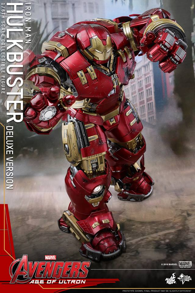 [Hot Toys]- Avengers: Age of Ultron- Hulkbuster deluxe version 1/6 44455810