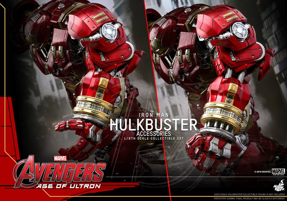 [Hot Toys]- Avengers: Age of Ultron- Hulkbuster Accessories set 1/6  44529110