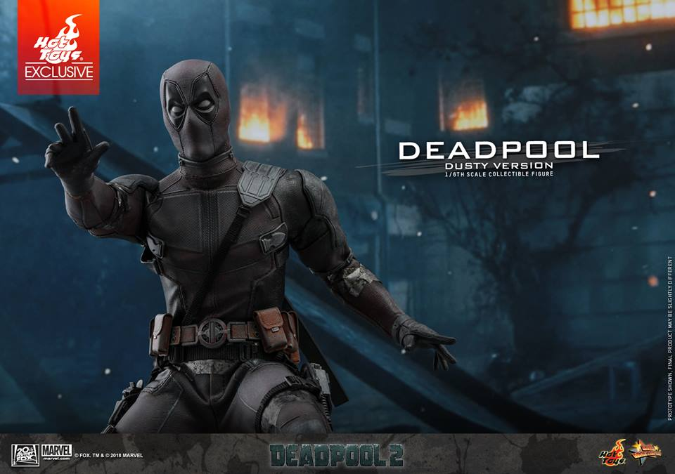 [Hot Toys] -Deadpool 2-Deadpool (Dusty version) 44529111