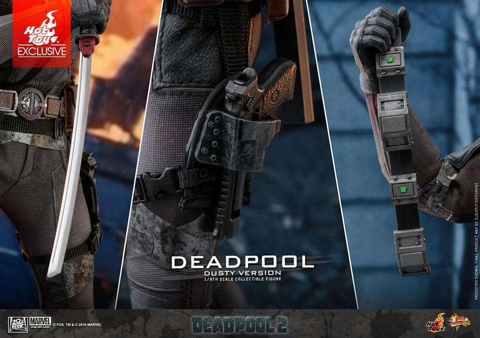 [Hot Toys] -Deadpool 2-Deadpool (Dusty version) 44571310