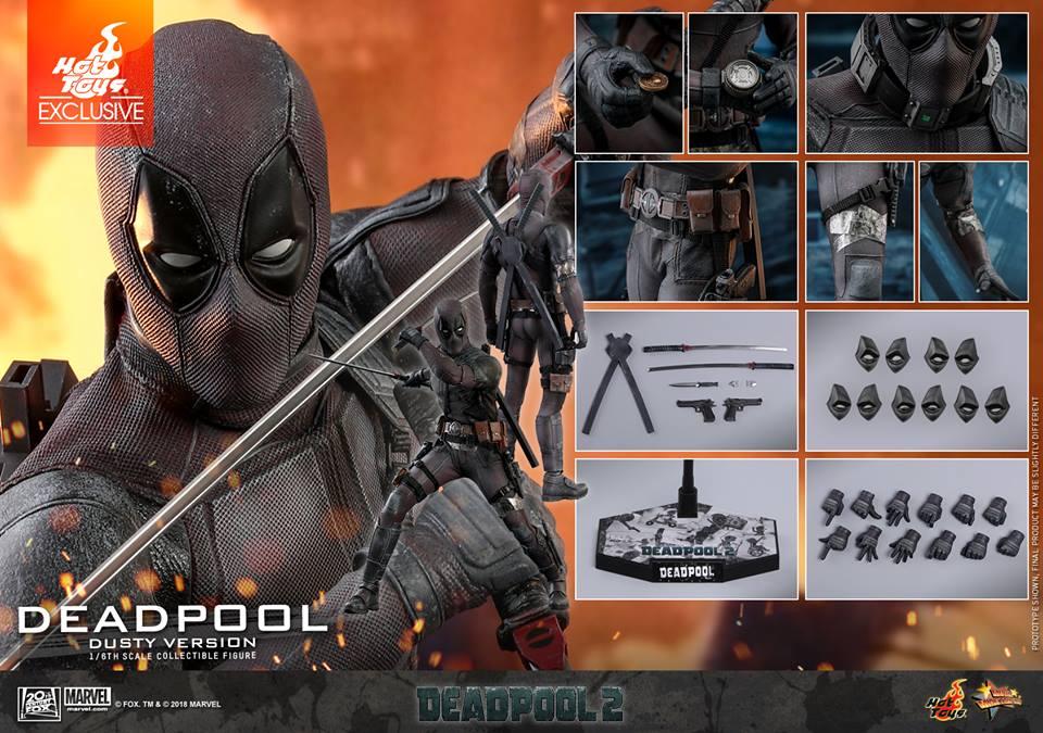 [Hot Toys] -Deadpool 2-Deadpool (Dusty version) 44670710