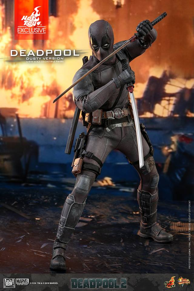 [Hot Toys] -Deadpool 2-Deadpool (Dusty version) 44679910