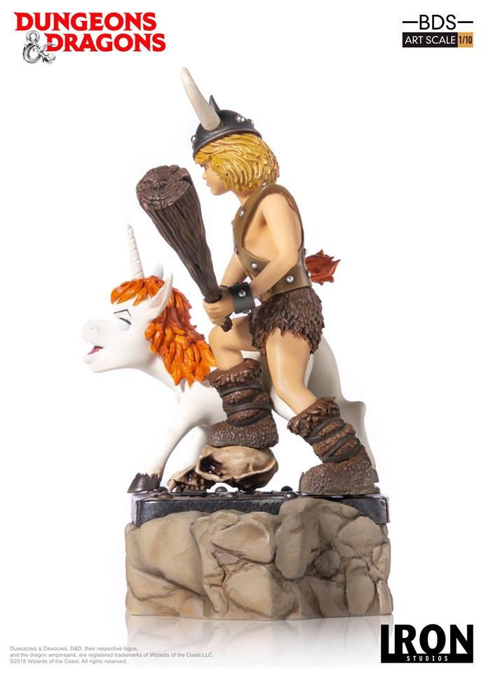 [Iron Studios] - Dungeons & Dragons - Bob, o bárbaro e Uni 1/10 44683110