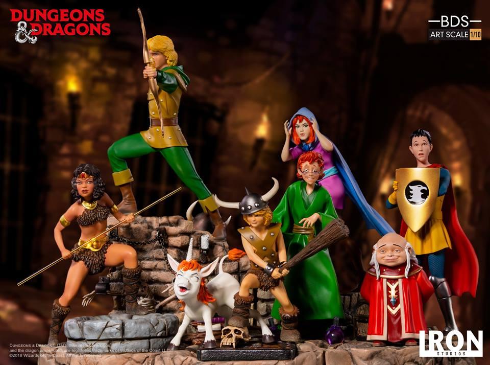 [Iron Studios] - Dungeons & Dragons - Bob, o bárbaro e Uni 1/10 44731910