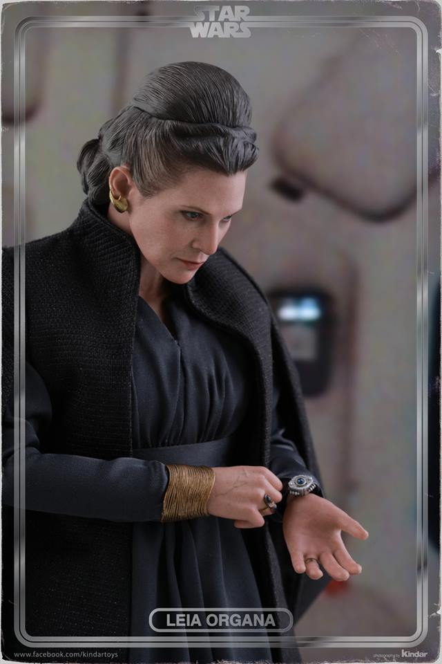 [Hot Toys] -Star Wars EP. VIII- Leia Organa 1/6 44737910